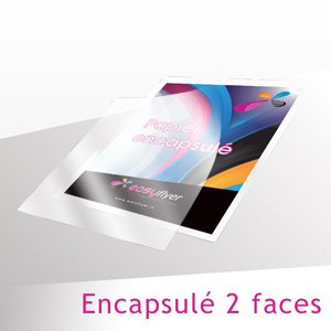 Papier au Mètre 220g Encapsulé 2 faces