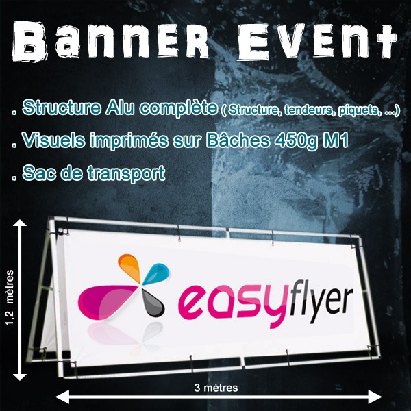 Banner Event 125 x 300 cm