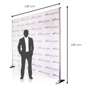 Photocall toile Eco mat 375g M1