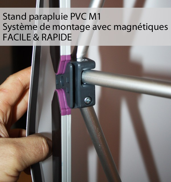 Structure stand parapluie