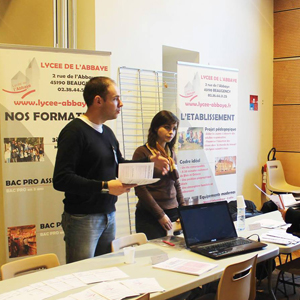 Partage client : Impression roll up conférence